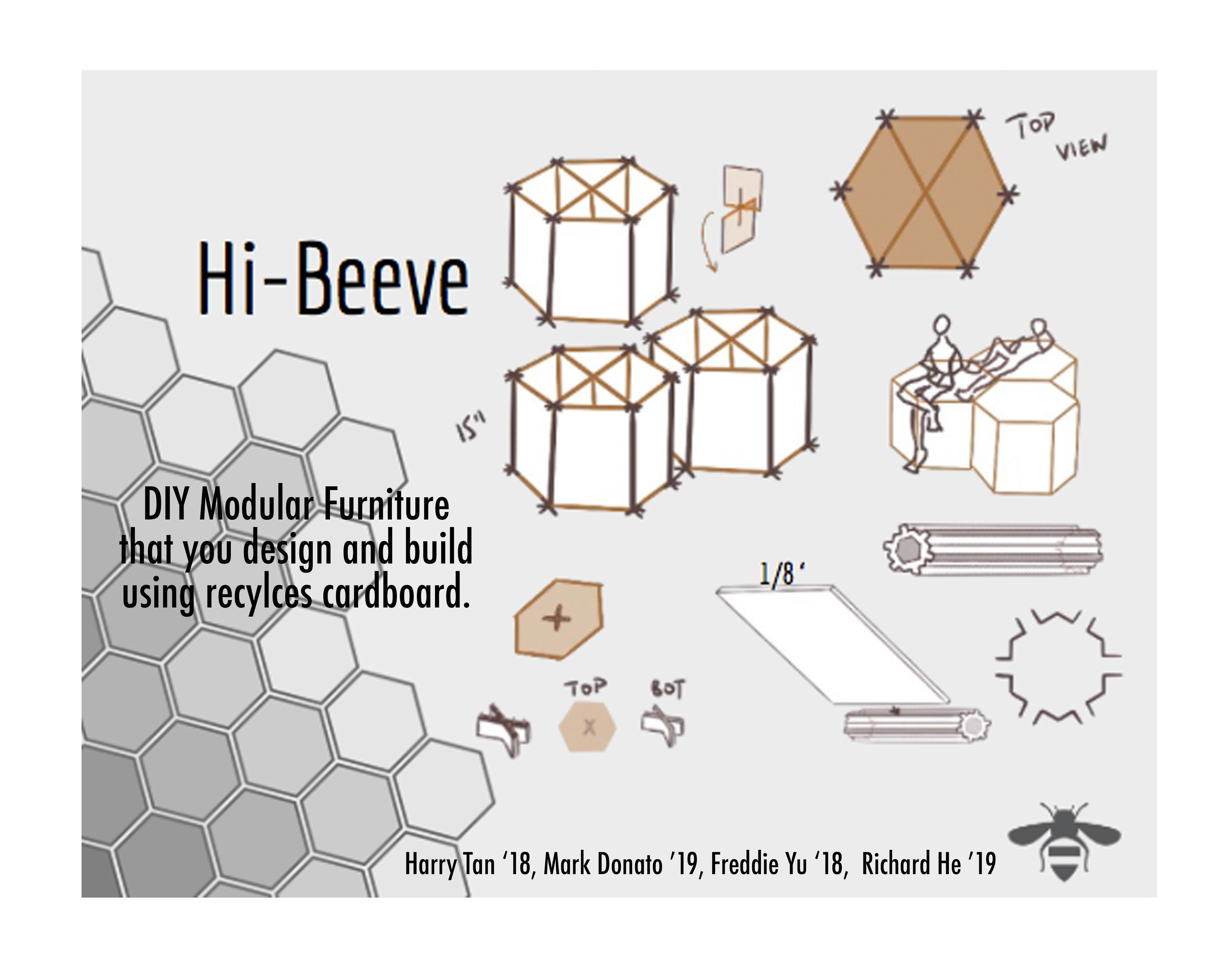 Hi Beeve Print