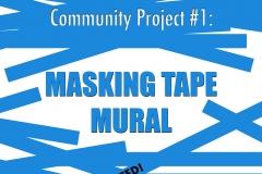 2018 Masking Tape Mural