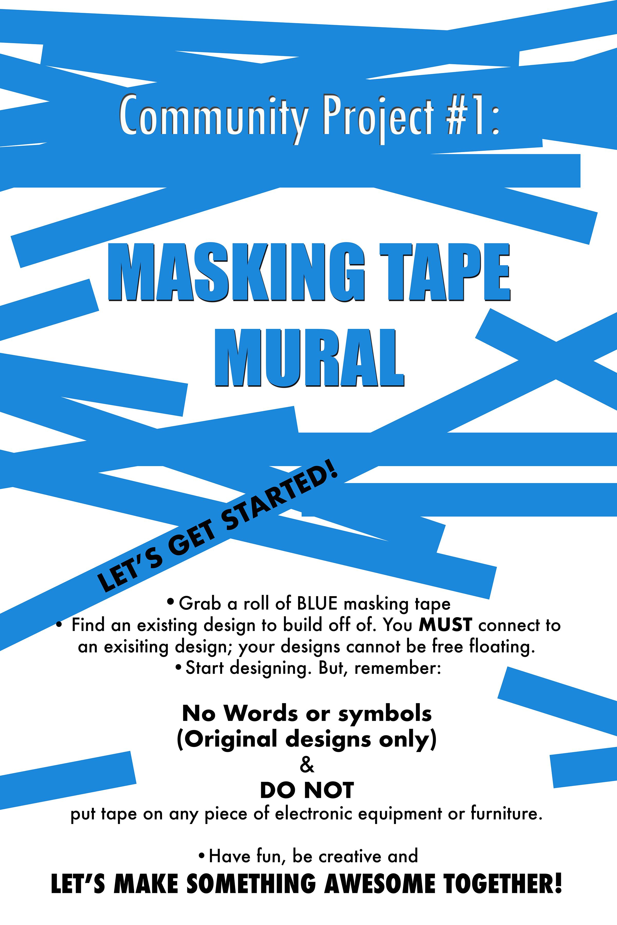 cover-Masking Tape Mural